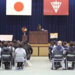 激励の言葉/尾道市立浦崎中学校・「Robina花文字・福山」のお知らせ